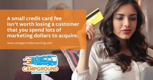 Campground Credit Card Fees
